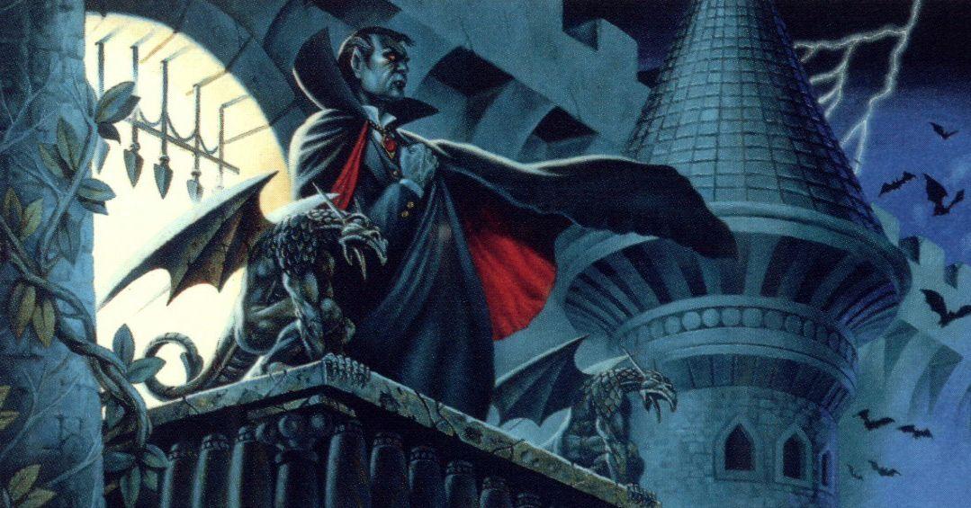 Вампир Страд из сеттbнга Ravenloft