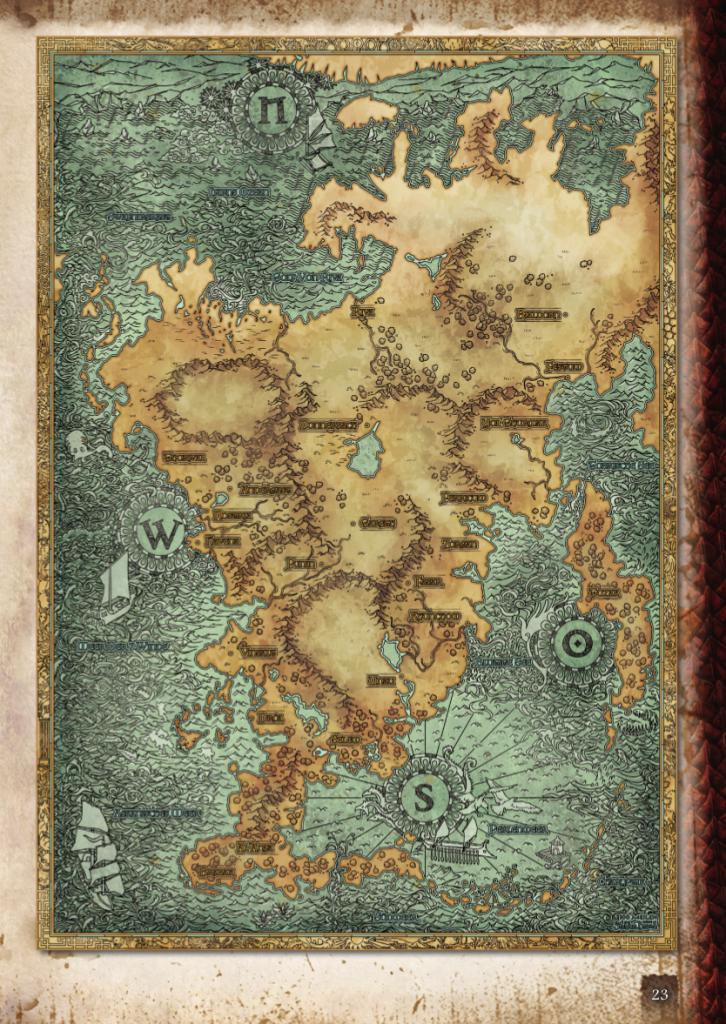 Карта Авентурии